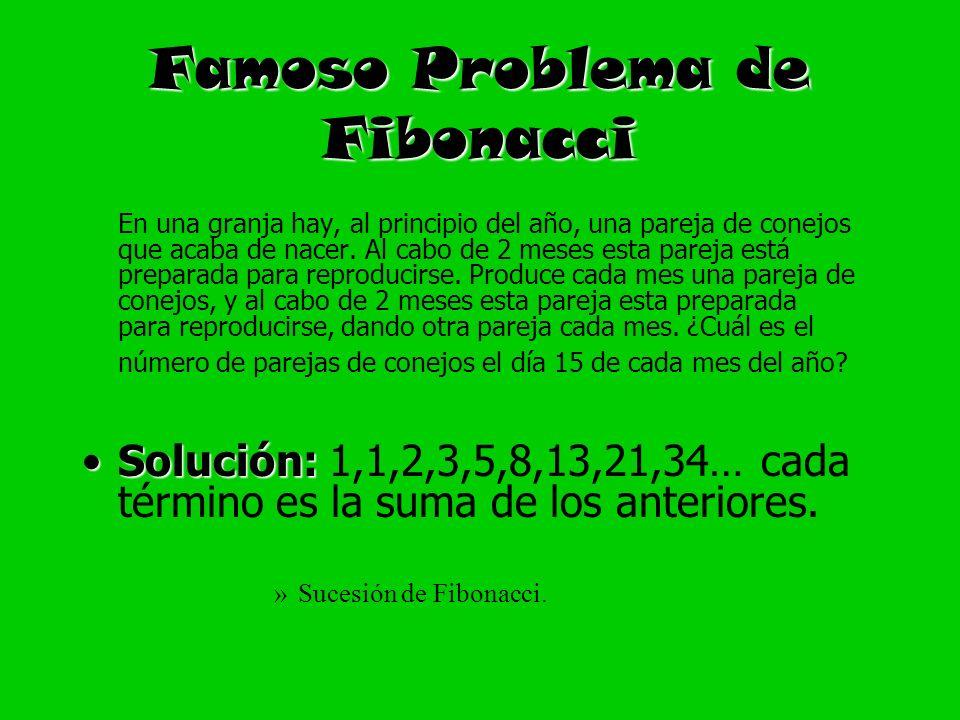 Famoso Problema de Fibonacci
