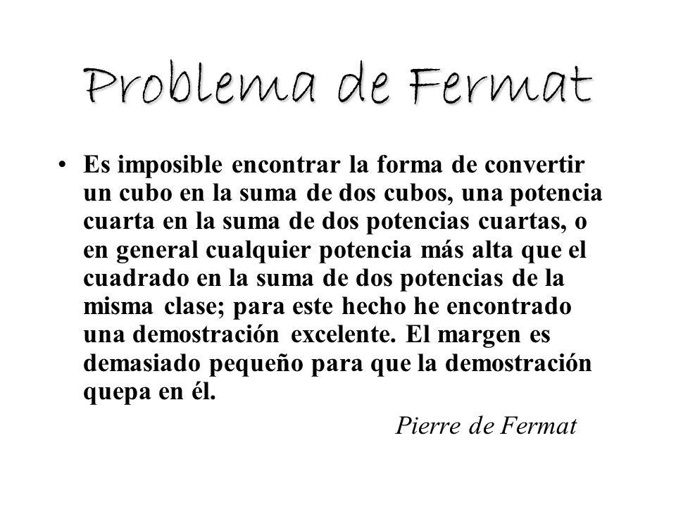 Problema de Fermat