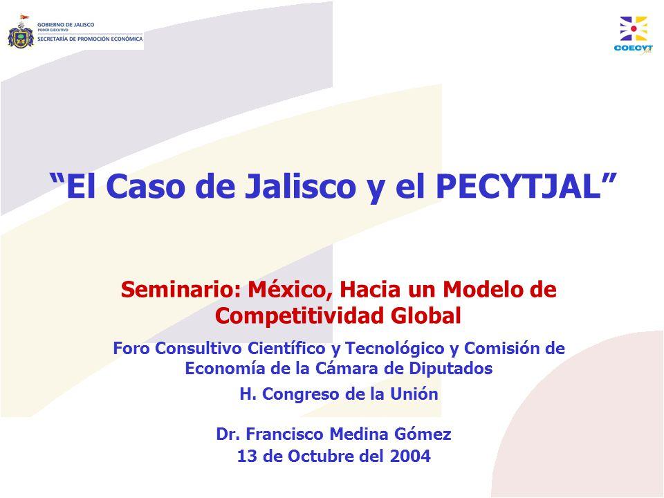 El Caso de Jalisco y el PECYTJAL