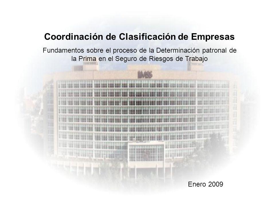 Coordinación de Clasificación de Empresas