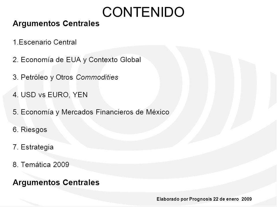 CONTENIDO Argumentos Centrales 1.Escenario Central