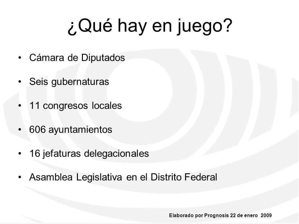 ¿Qué hay en juego Cámara de Diputados Seis gubernaturas