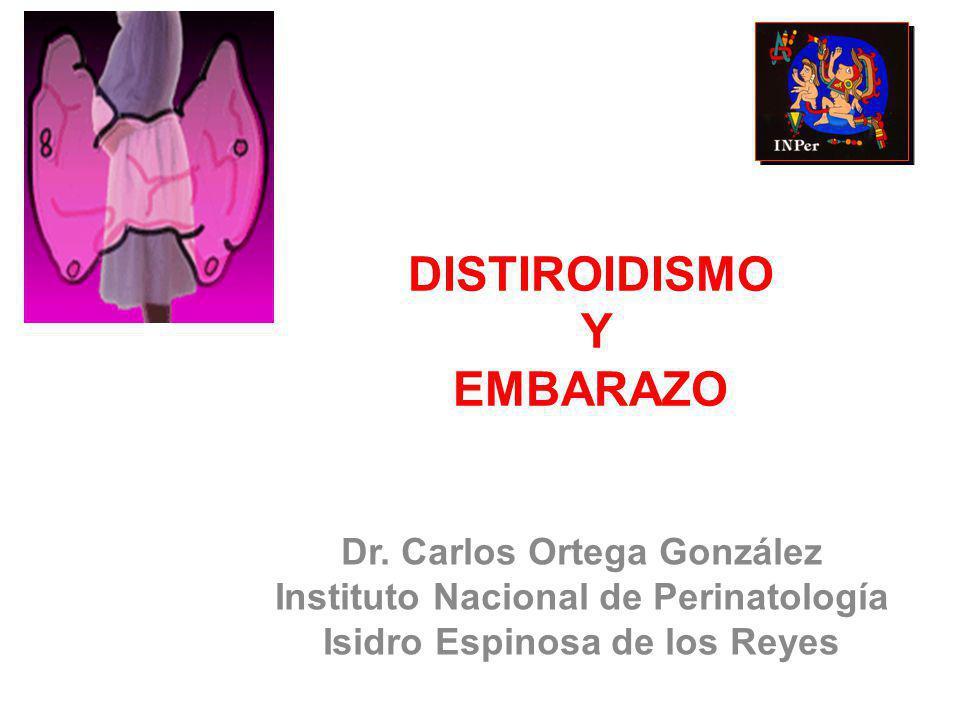 DISTIROIDISMO Y EMBARAZO