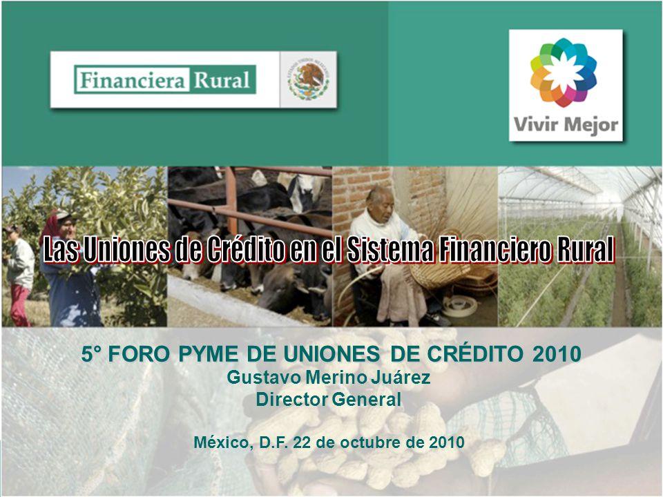 5° FORO PYME DE UNIONES DE CRÉDITO 2010