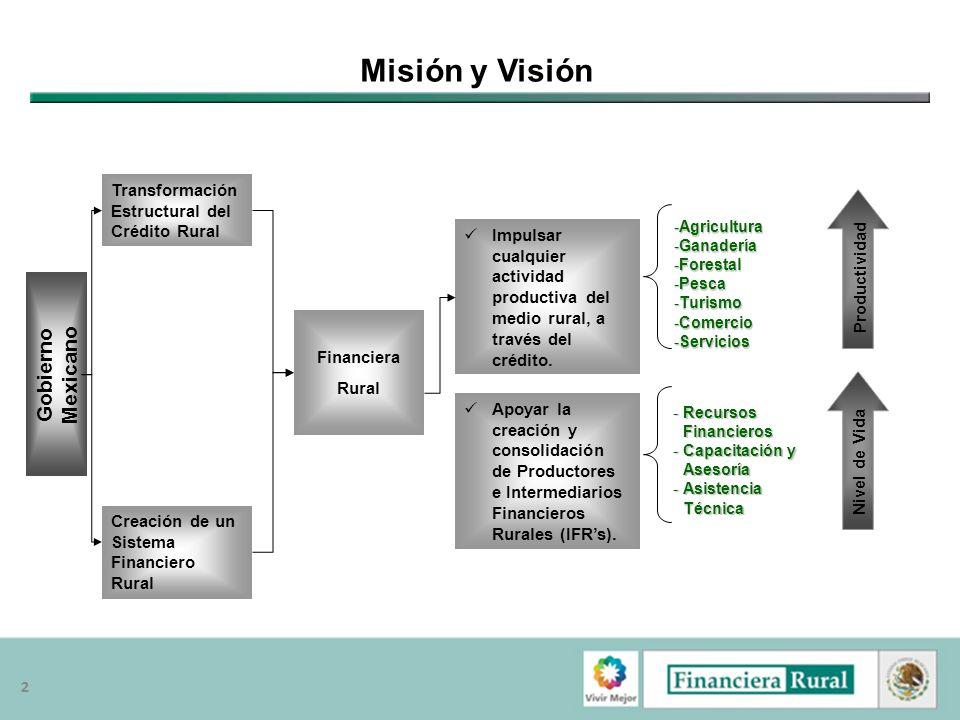 Misión y Visión Gobierno Mexicano