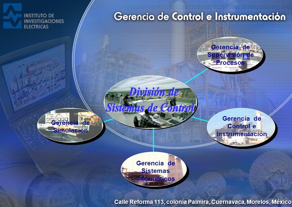 División de Sistemas de Control