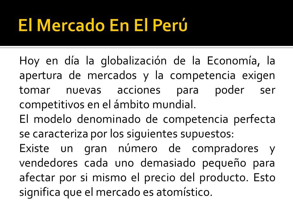 El Mercado En El Perú