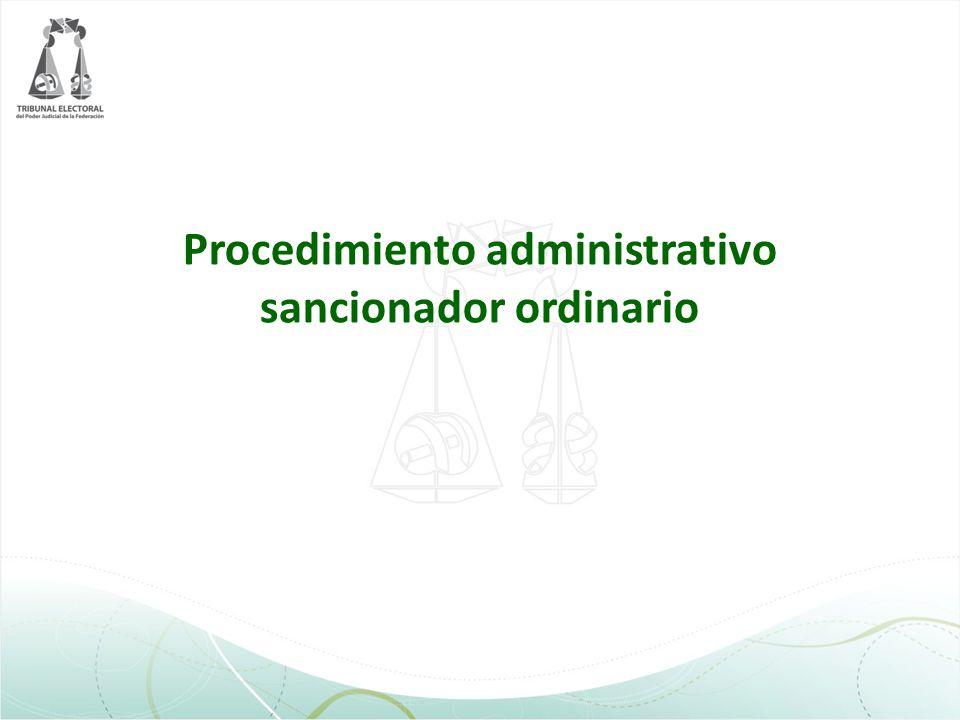 Procedimiento administrativo sancionador ordinario