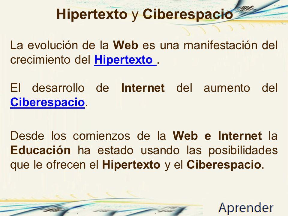 Hipertexto y Ciberespacio