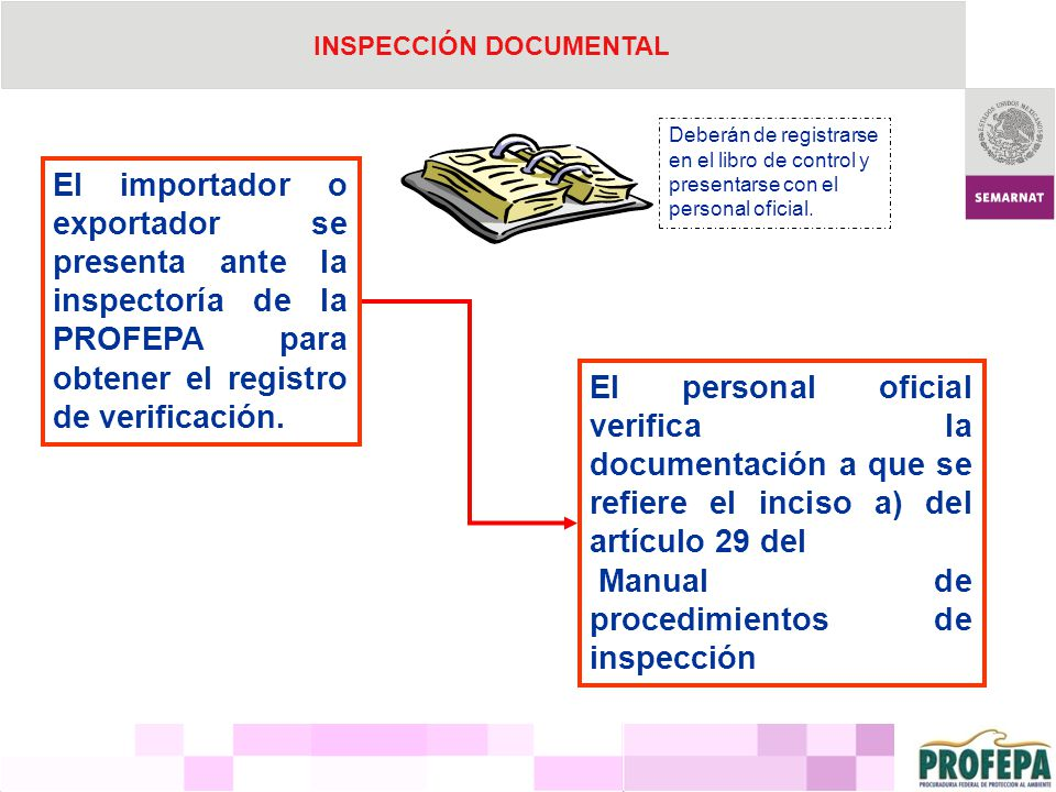 INSPECCIÓN DOCUMENTAL