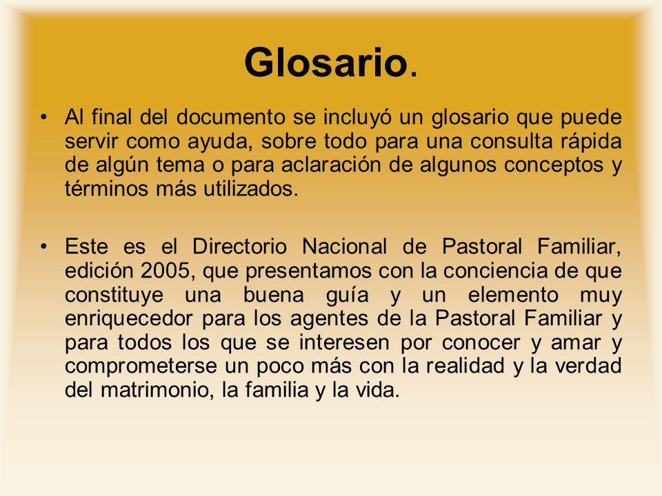 Glosario.