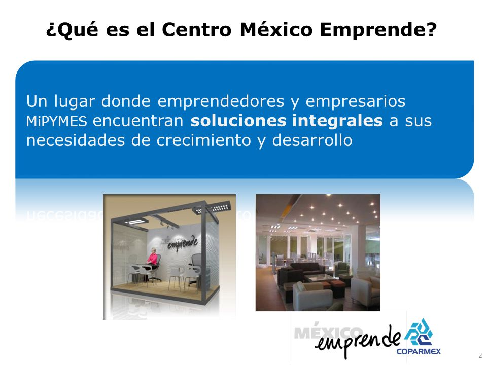 ¿Qué es el Centro México Emprende