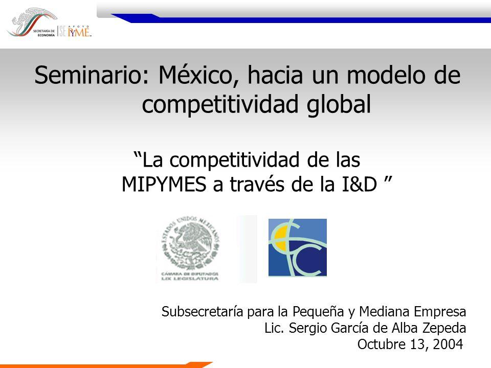Seminario: México, hacia un modelo de competitividad global