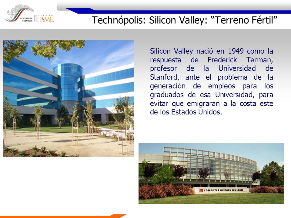 Technópolis: Silicon Valley: Terreno Fértil