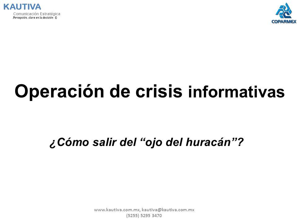 Operación de crisis informativas
