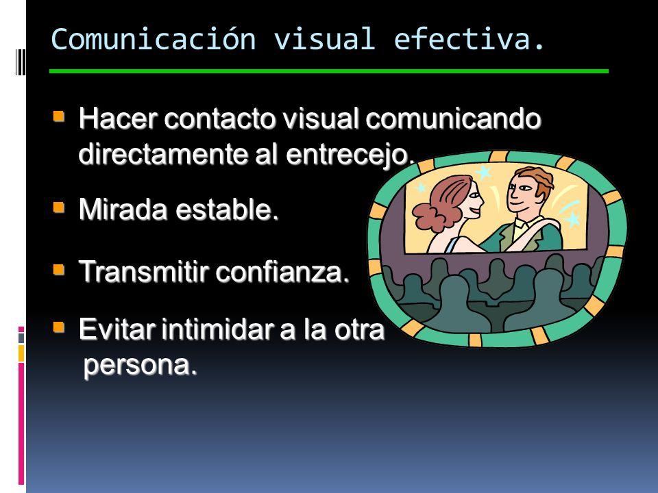 Comunicación visual efectiva.