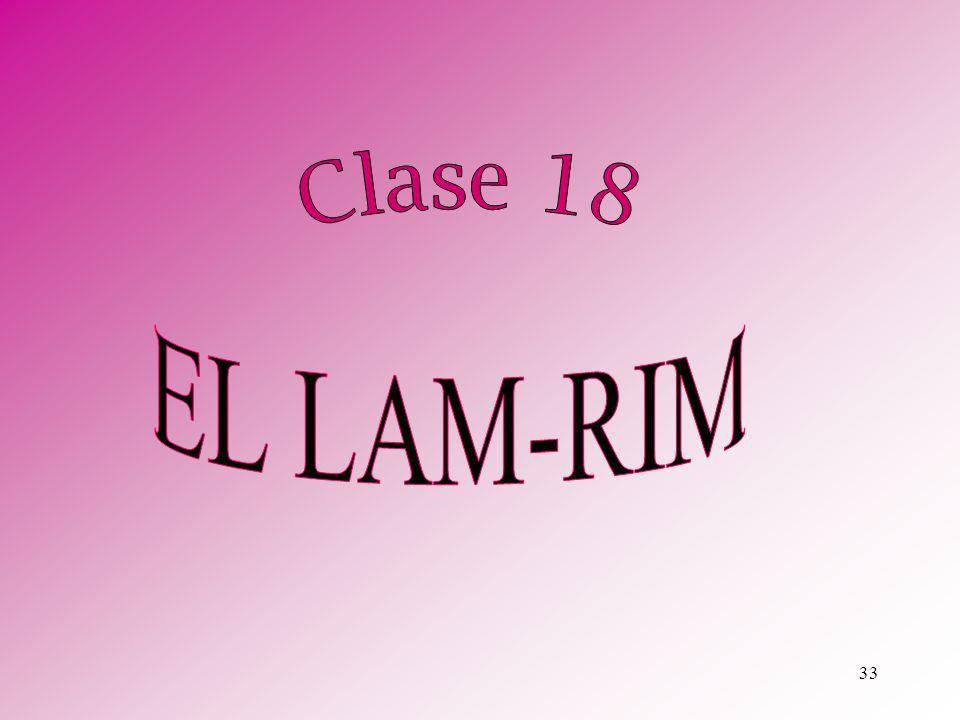 Clase 18 EL LAM-RIM
