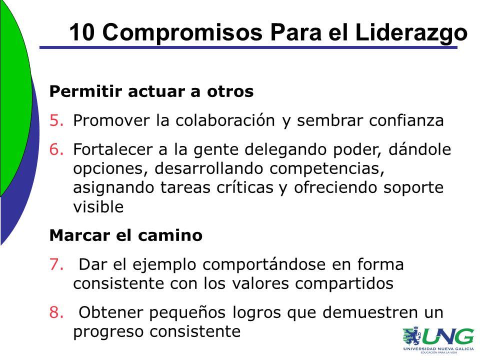 10 Compromisos Para el Liderazgo