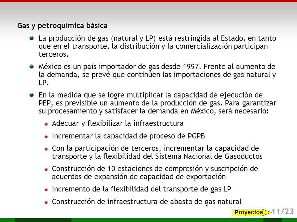 11/23 Gas y petroquímica básica
