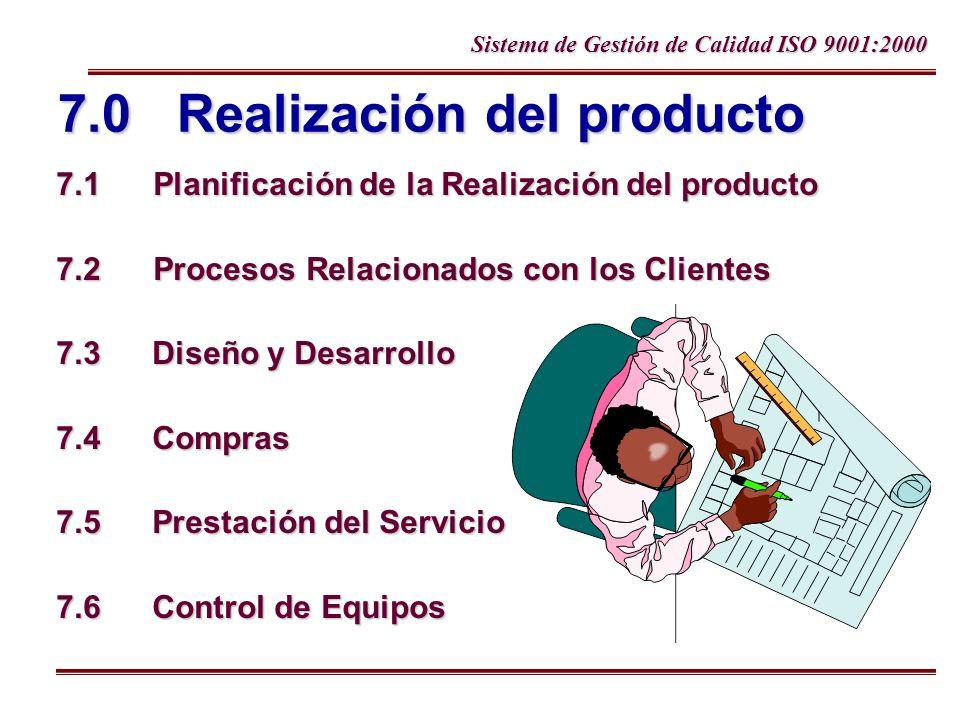 7.0 Realización del producto