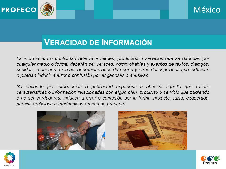 México Veracidad de Información