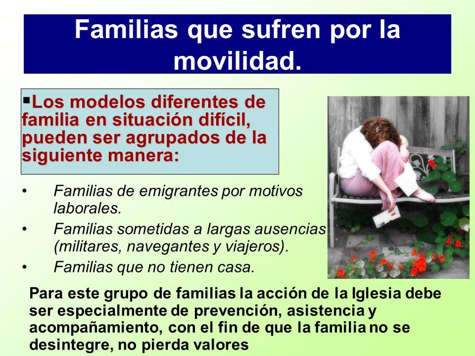 Familias que sufren por la movilidad.