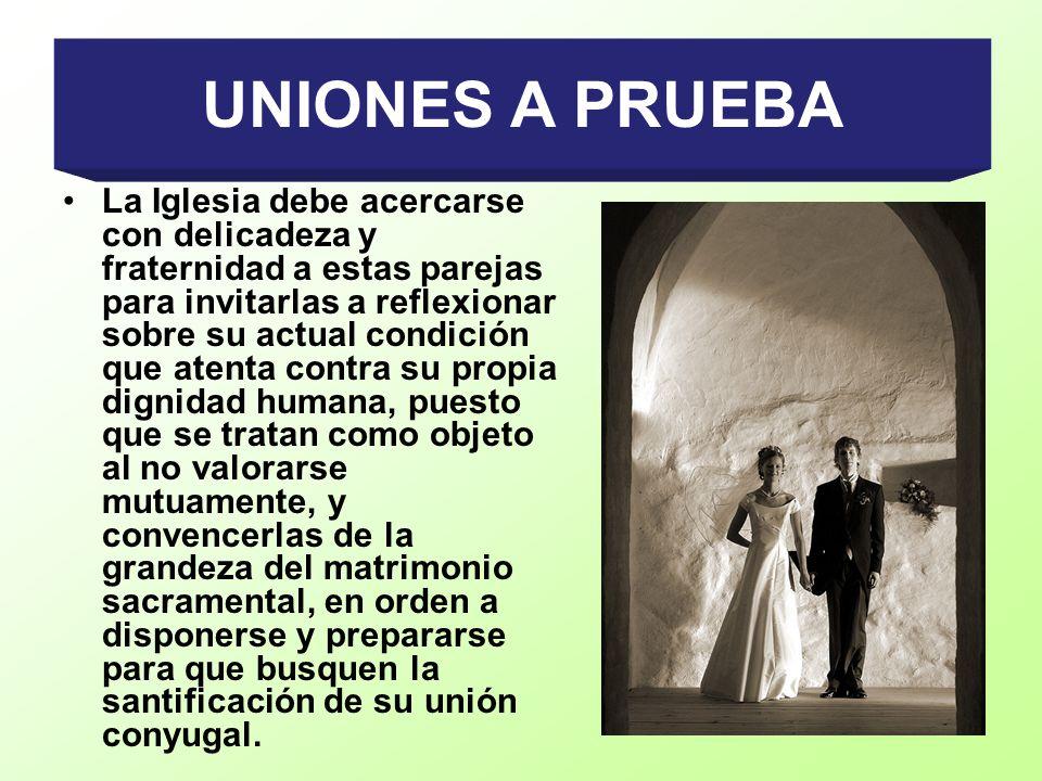 UNIONES A PRUEBA