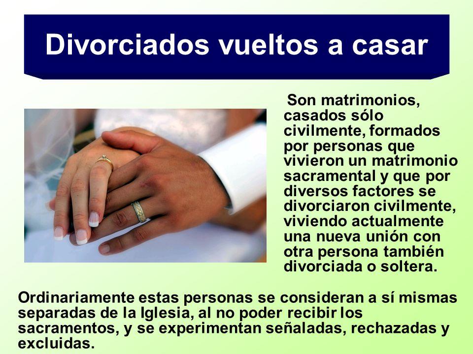 Divorciados vueltos a casar