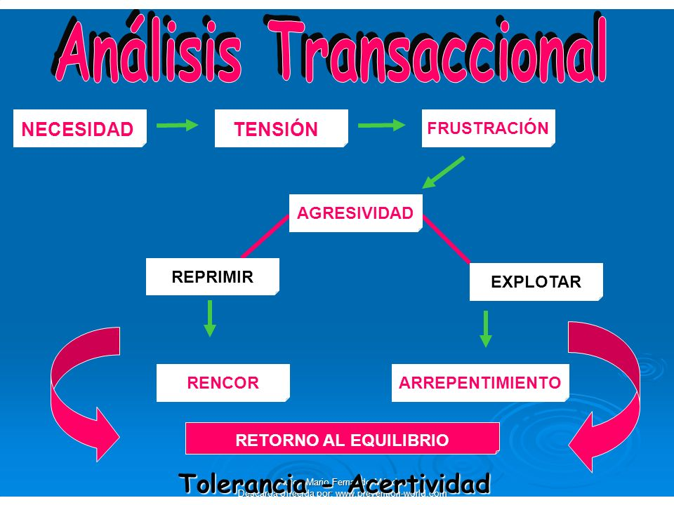 Análisis Transaccional Tolerancia - Acertividad