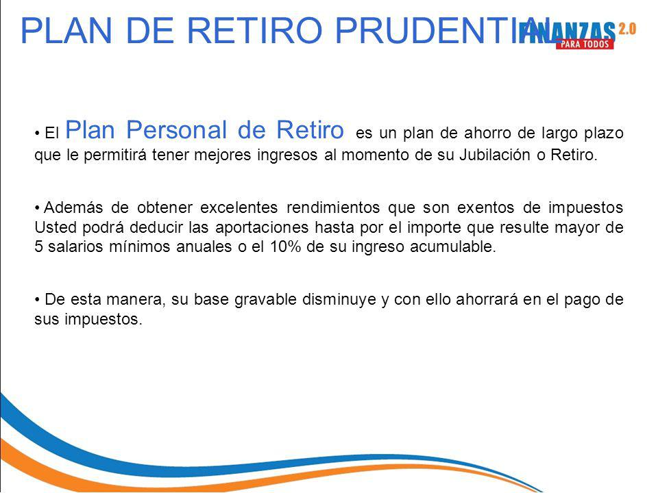 PLAN DE RETIRO PRUDENTIAL