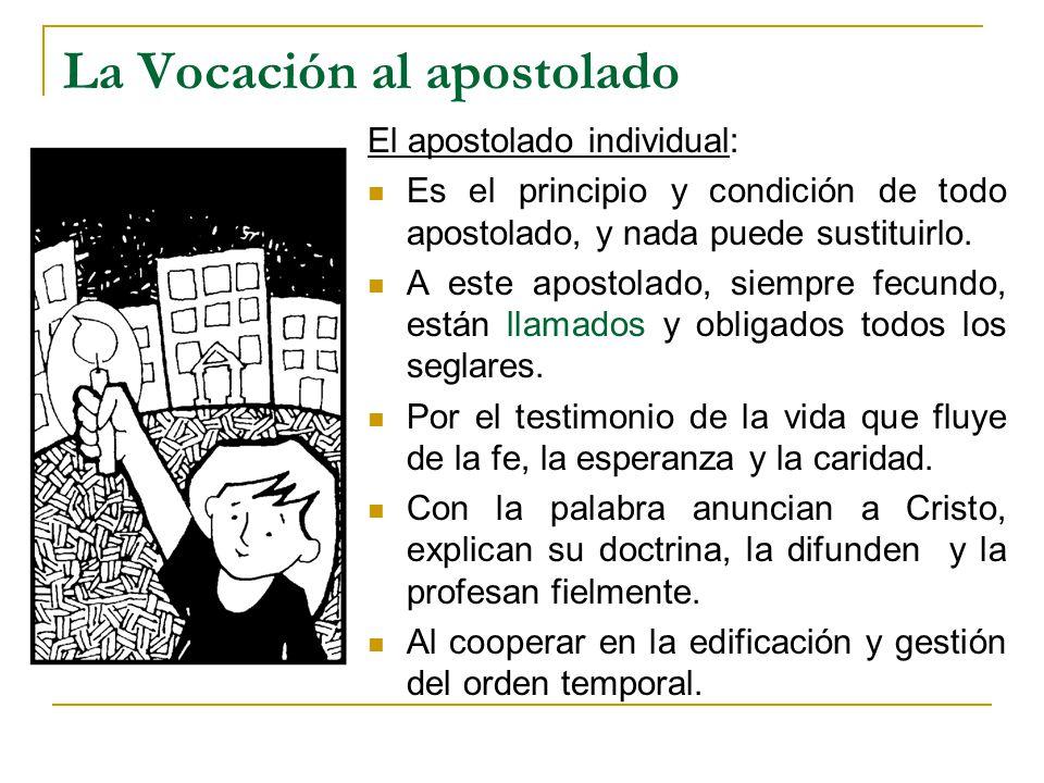 La Vocación al apostolado