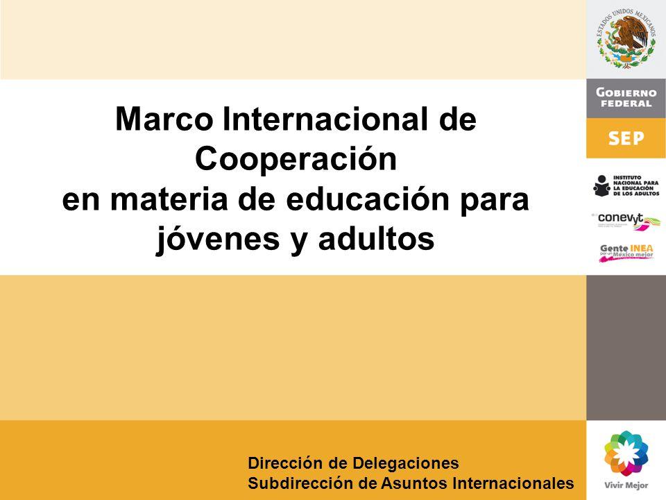 Marco Internacional de Cooperación