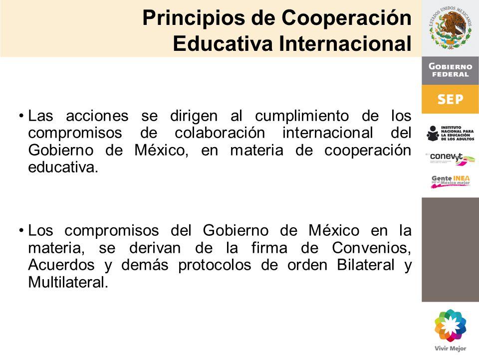 Principios de Cooperación Educativa Internacional