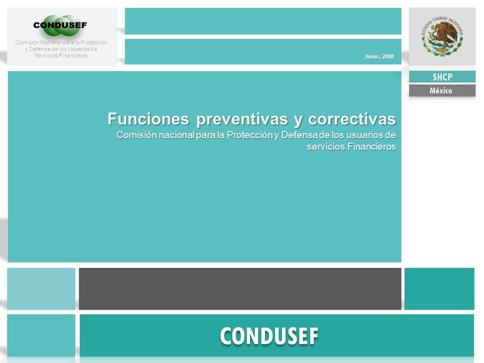 Funciones preventivas y correctivas
