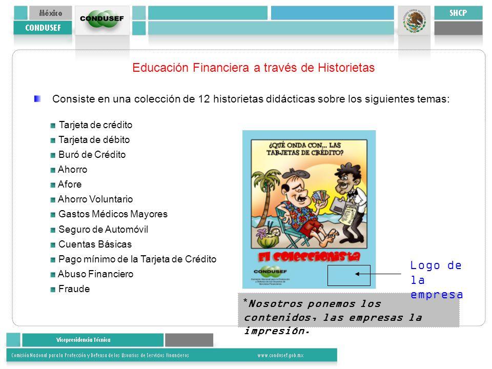 Educación Financiera a través de Historietas