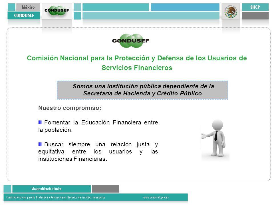 Comisión Nacional para la Protección y Defensa de los Usuarios de Servicios Financieros