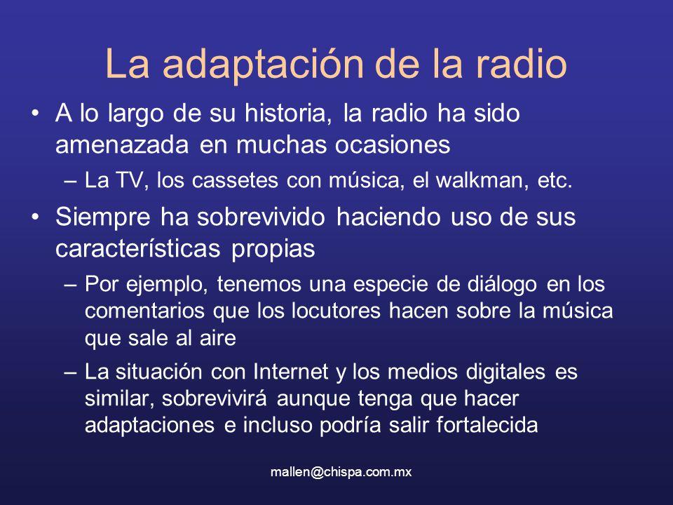 La adaptación de la radio