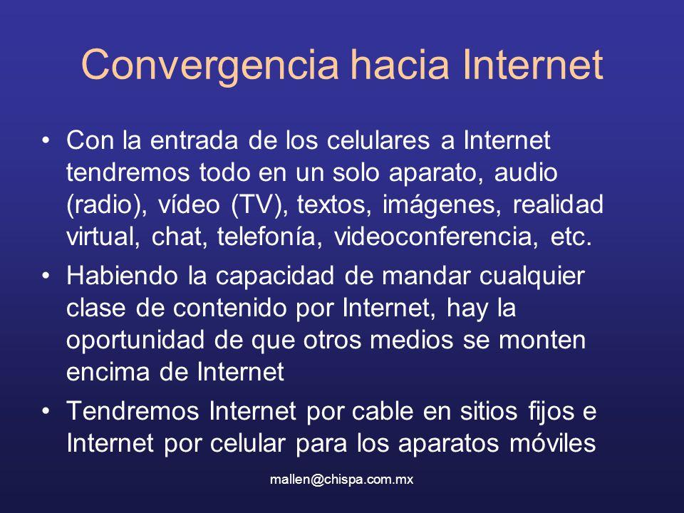 Convergencia hacia Internet