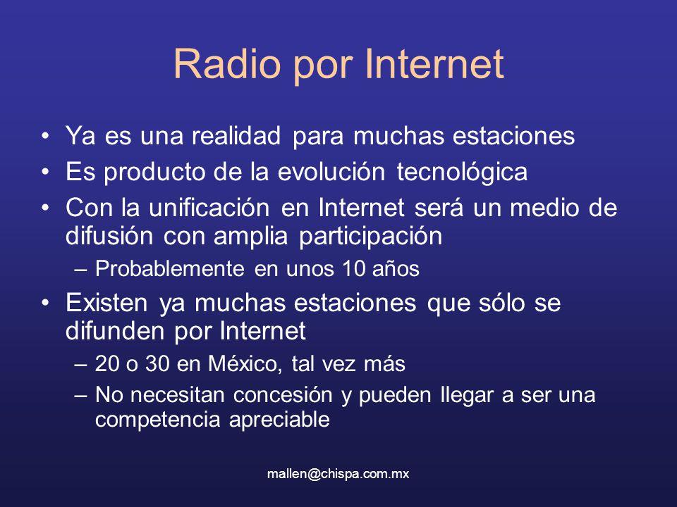 Radio por Internet Ya es una realidad para muchas estaciones