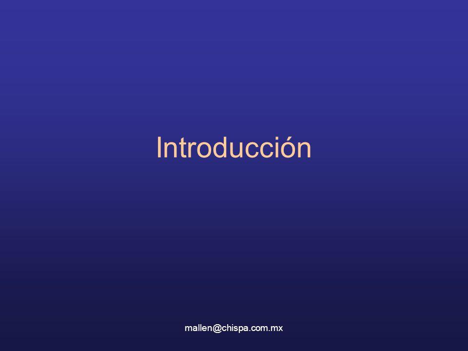 Introducción mallen@chispa.com.mx