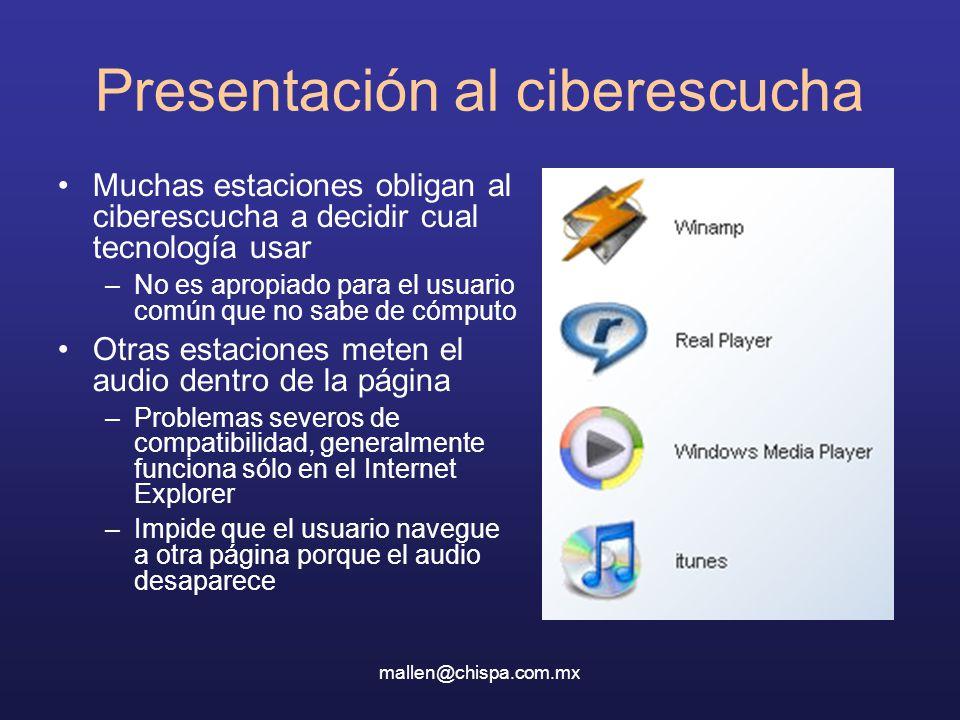 Presentación al ciberescucha
