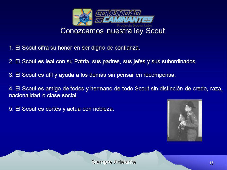 Conozcamos nuestra ley Scout