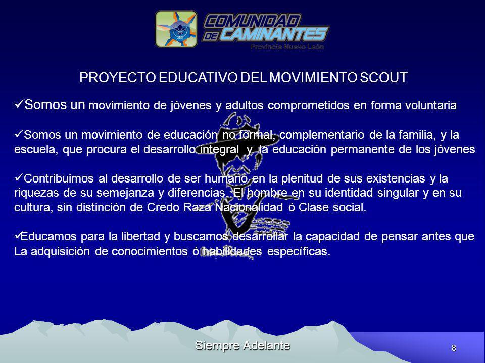 PROYECTO EDUCATIVO DEL MOVIMIENTO SCOUT