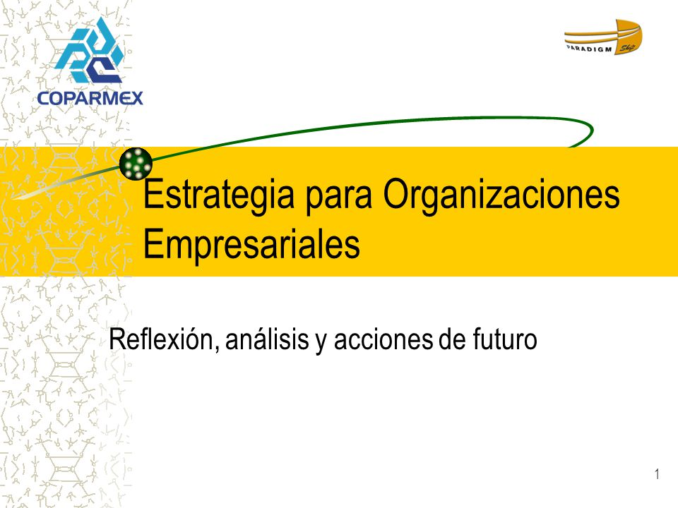 Estrategia para Organizaciones Empresariales