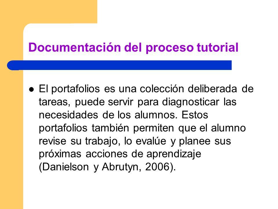 Documentación del proceso tutorial