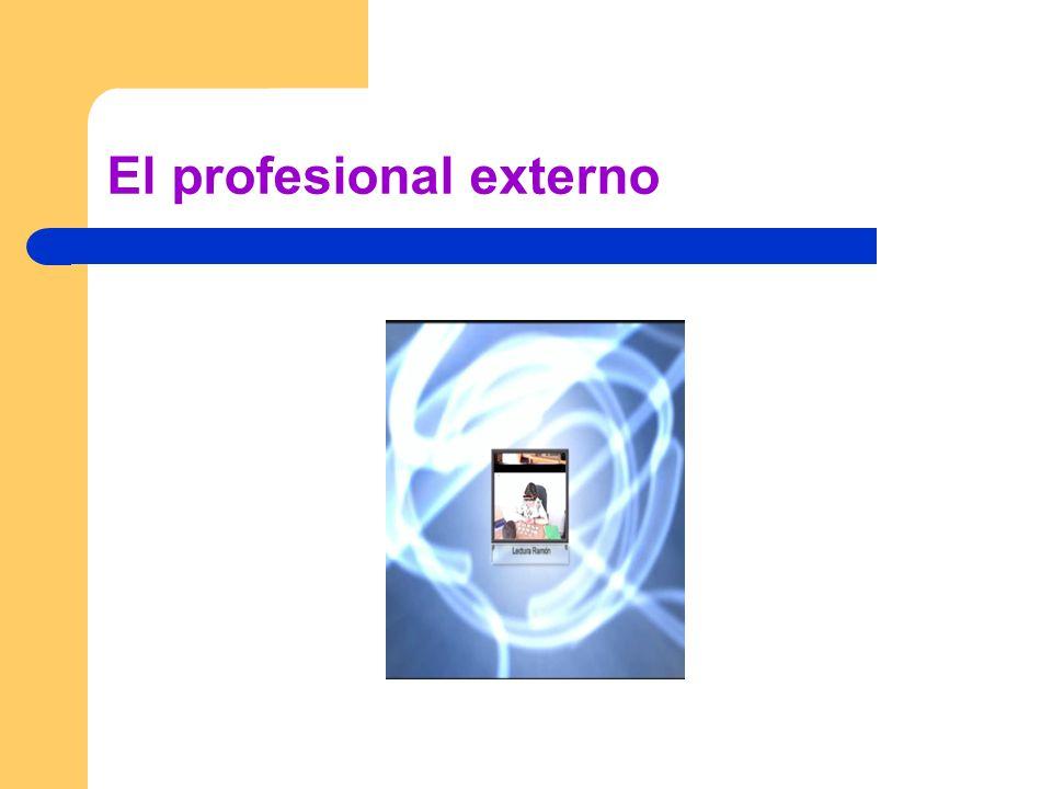 El profesional externo