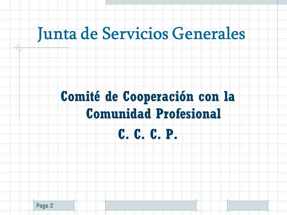 Junta de Servicios Generales