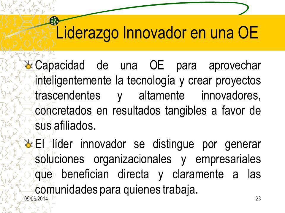 Liderazgo Innovador en una OE