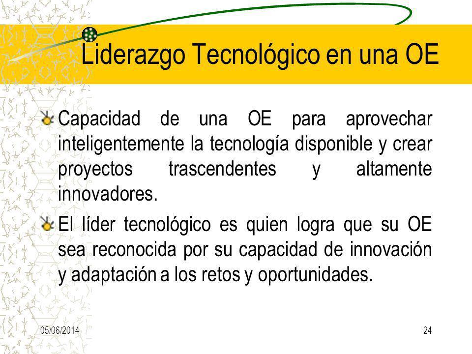Liderazgo Tecnológico en una OE