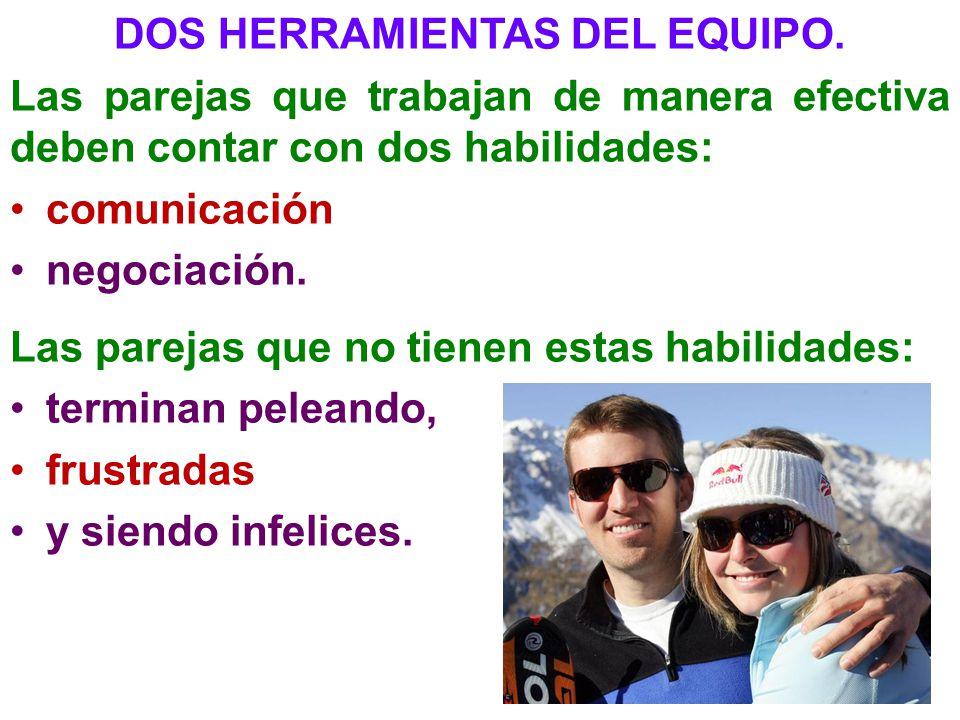 DOS HERRAMIENTAS DEL EQUIPO.